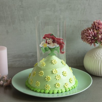 Ariel in Green Dress Pull Me up Cake 750gms