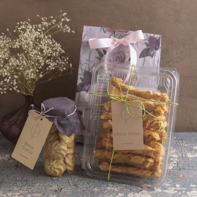 Butter Cookies & Cheese Straws