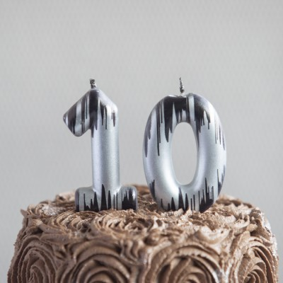 """""""10"""" Numeric Candles"""