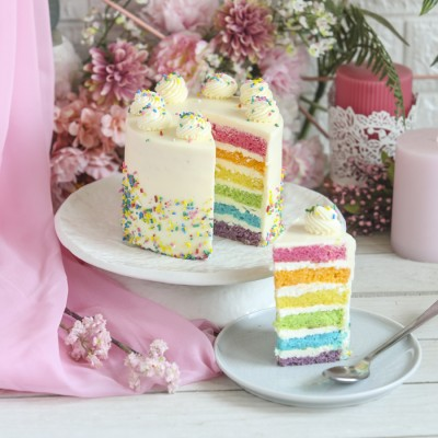 Women's Day Rainbow Cake 750gms