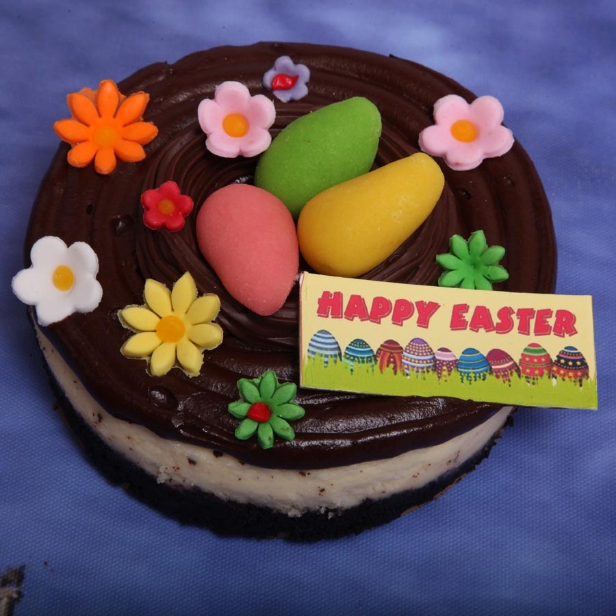 Easter  Chocolate cheese cake 500gms