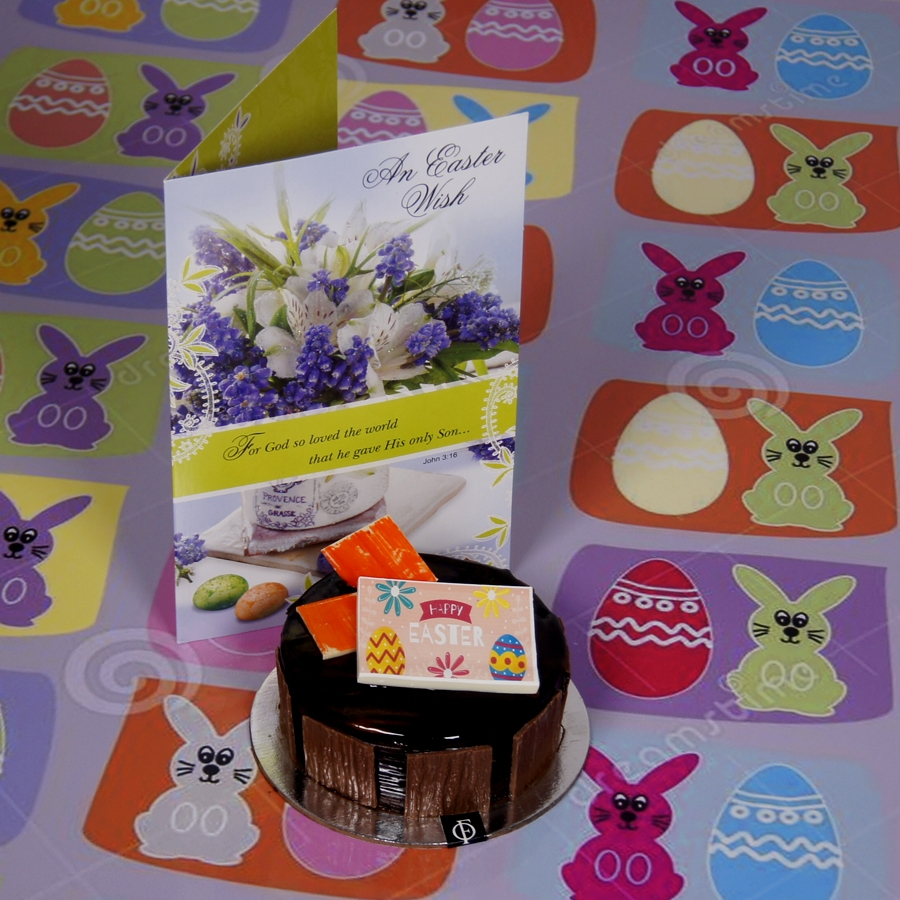 Easter chocolate Dutch Truffle 250 gms with card