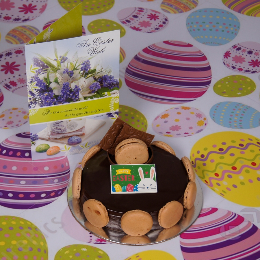 Easter Chocolate Dutch truffle Divine 500gms with card