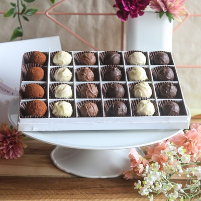 Box of 24 Chocolate Truffles