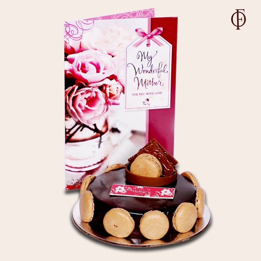 Mothers Day Chocolate Dutch truffle Divine 500gms with card