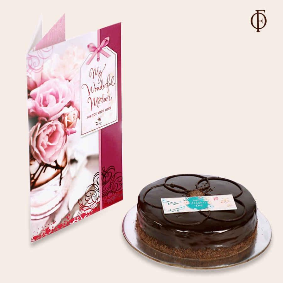 Mothers day Chocolate dutch truffle shine 500gms with card