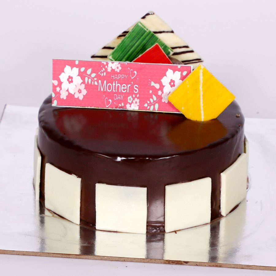 Mothers day Royal Chocolate mousse cake  eggless 500gms