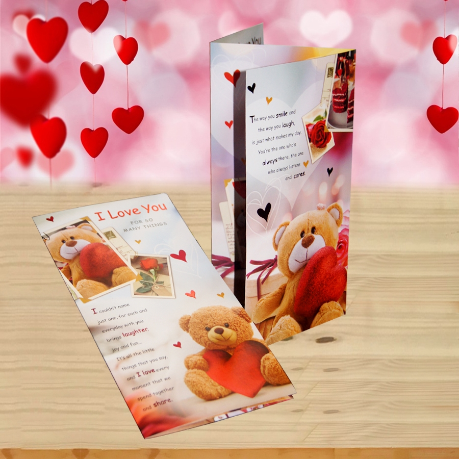 Valentines Days Card (I love you) 2